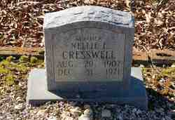 Nellie E. Cresswell