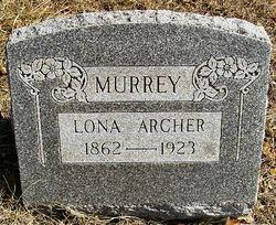 Hulda Carlona Lona <i>Bates Archer</i> Murrey