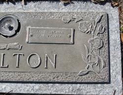 Jane Lucille <i>England</i> Carlton