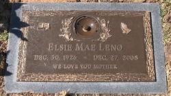 Elsie Mae <i>Thomas</i> Leno