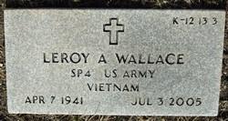 Leroy A Wallace