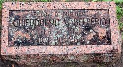 Gwendolyn Virginia <i>Weston</i> Belperio