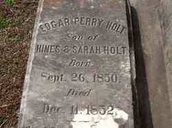 Edgar Perry Holt