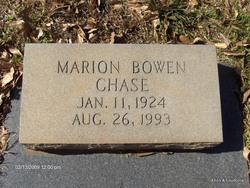 Marion <i>Bowen</i> Chase
