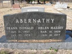 Helen <i>Massey</i> Abernathy
