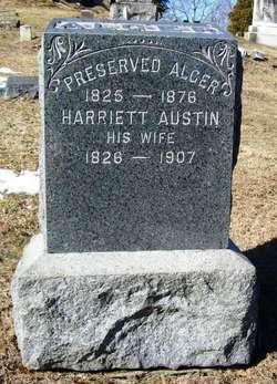 Harriett <i>Austin</i> Alger