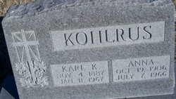 Anna <i>Augustine</i> Kohlrus