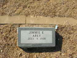 Jimmie E. <i>Mills</i> Arey