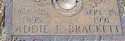 Addie F. Brackett