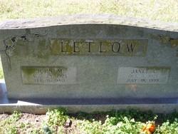 John Merlin Letlow
