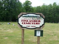 Clifford Finlander Cemetery