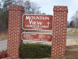 Mountain View Church of Christ Cemetery