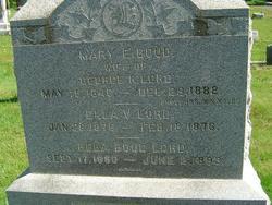 Mary Eleanor <i>Boud</i> Lord