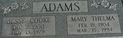 Jesse Cook Adams