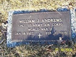 Corp William John Andrews