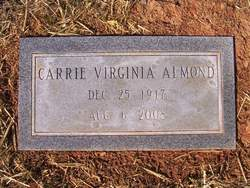 Carrie Virginia <i>Carr</i> Almond