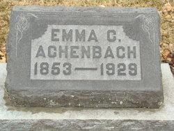 Emma C Achenbach