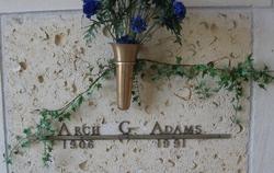 Archibald Gray Arch Adams