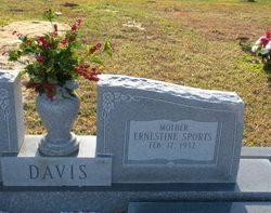 Ernestine <i>Sports</i> Davis