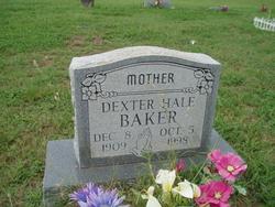 Dexter <i>Hale</i> Baker