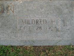 Mildred Evelyn Frankie <i>Hall</i> Coon