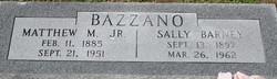 Matthew M Bazzano, Jr