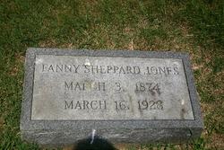 Fannie Lee <i>Sheppard</i> Jones