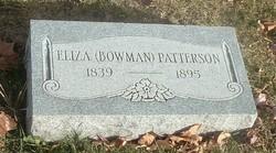 Eliza <i>Bowman</i> Patterson