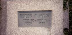Maude O. Byrd