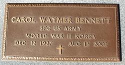Carol Waymer Bennett