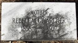 Rebecca <i>Griffeth</i> Archer