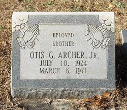 Otis Golden Archer, Jr