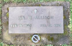 Iva W Allison