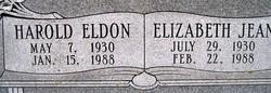 Harold Eldon Dillahunt