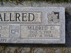 Mildred Carolyn <i>Johnson</i> Allred