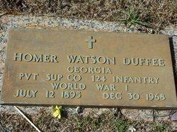 Homer Watson Duffee
