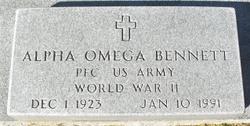 Alpha Omega Bennett