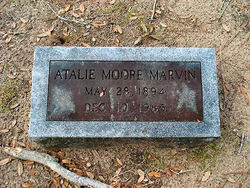 Atalie <i>Moore</i> Marvin