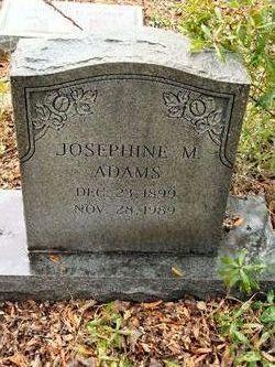 Josephine M. Adams