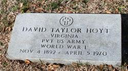 David Taylor Hoyt