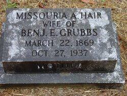 Missouria Ann Zura <i>Hair</i> Grubbs