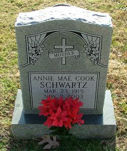 Annie Mae <i>Cook</i> Schwartz