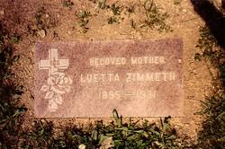 Luetta Philomena <i>Meyer</i> Zimmeth
