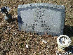 Eva Mae <i>Freeman</i> Bennett
