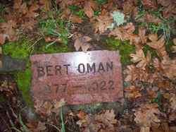 Charles Albert Bert Oman