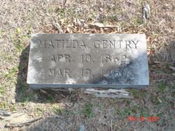 Matilda Ann <i>Sessions</i> Gentry