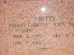 Charles Garrett Garry Betty