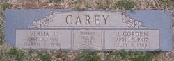 Verma Louise <i>Weems</i> Carey