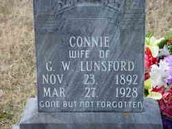Carrie Gecona Connie <i>Thompson</i> Lunsford