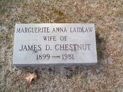 Marguerite Anna <i>Laidlaw</i> Chestnut